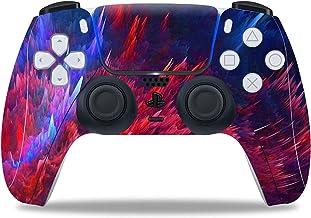 CWAIXXMM Adesivo in Vinile per PS5, PVC Pellicola Protective Cover Sticker per PS5 Controller Skin per Playstation 5 Gamep...