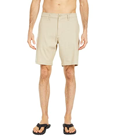 RVCA Back in Hybrid Shorts (Khaki) Men