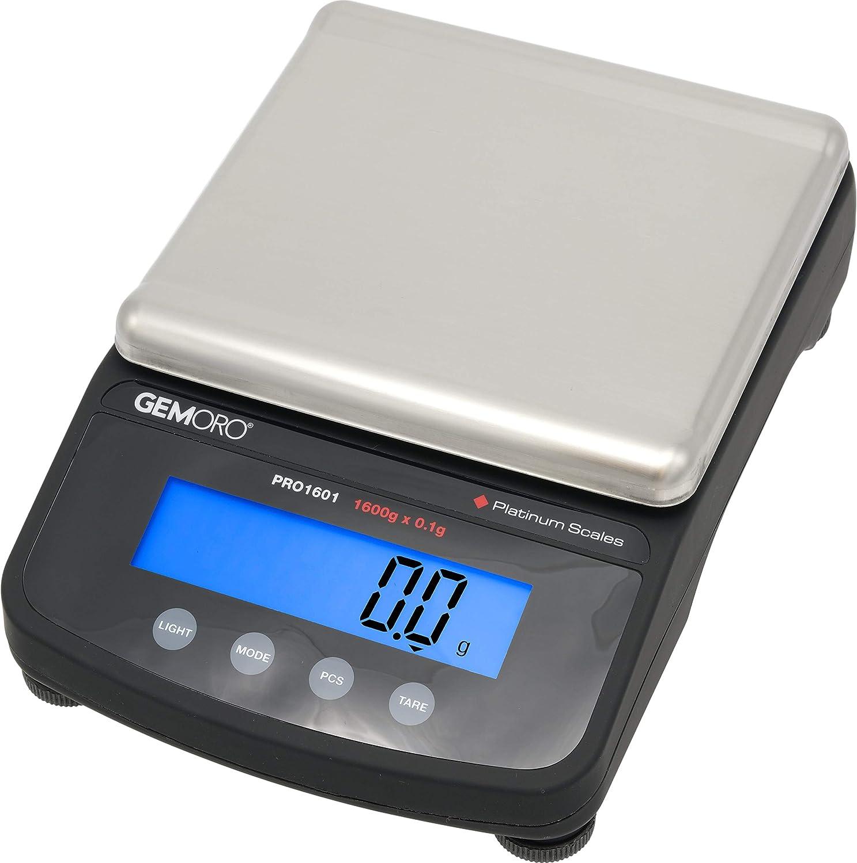 GemOro Platinum Pro 1601 Digital Jewelers Jewelry Scale