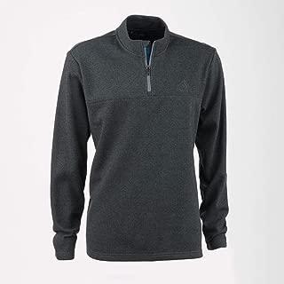 adidas Men's Advantage 1/4-Zip Golf Pullover - Vista Grey, XXL