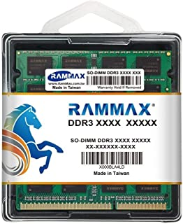 RamMax メモリ 2枚組 RM-SD1333-D8GB DDR3 1333 4GBX2 DUAL 204pin DDR3-SO-DIMM DIMM ノートパソコン用 増設メモリ 8GB デュアル