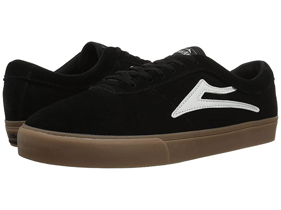 Lakai Sheffield (Black/White Suede) Men