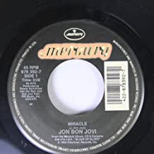 jon bon jovi 45 RPM miracle / blood money