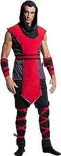 Yandy Men's Sleeveless Top Lethal Ninja Assassin Halloween Cosplay Costume