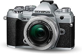 Olympus OM-D E-M5 Mark III Micro Four Thirds systemkamerakit (20 MP sensor, 5-axlad bildstabilisator, autofokus, elektroni...