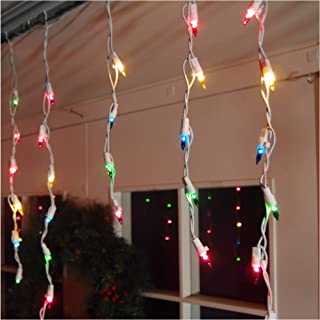 Brite Star Icicle Lights, Multicolor