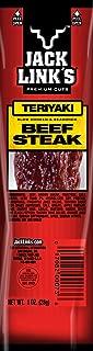 Jack Link's Premium Cuts Beef Steak, Teriyaki, 1-Ounce (Pack of 12)