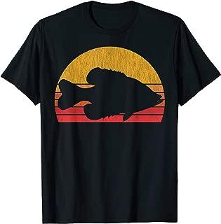 Crappie Fishing Retro Fisherman Gift T-Shirt