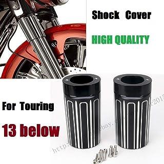 Motocicleta Botas de horquilla superior de calibre 10 sportster 1200 Cubierta del amortiguador para Harley 2000-2015 Sportster XL 883 1200