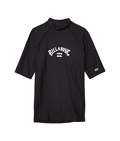 Billabong Arch Performance Fit Short Sleeve (Black) Men