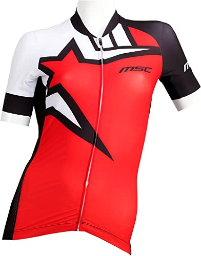 MSC Bikes mclaudiaprord Maillot Manches Courtes, Femme