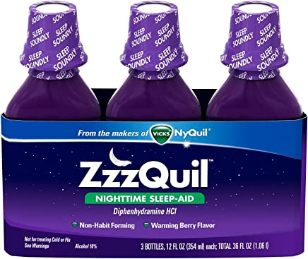 ZzzQuil Nighttime Sleep-Aid - Berry Flavor