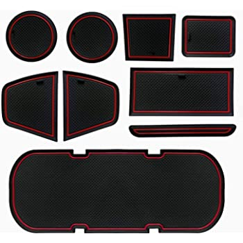 Real Carbon Fiber Center Console Seat Heating Button Cover Trim Fit for Toyota 86 2013-2017 Suuonee Center Console Trim Cover