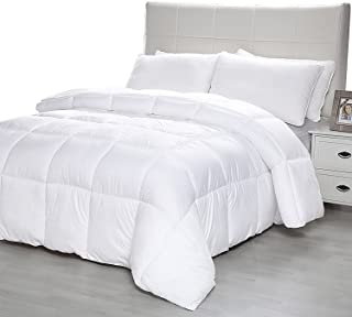 D & G THE DUCK AND GOOSE CO Quit Twin White BED-QT-68x86