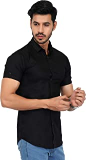 U-TURN Men's Slim Fit Shirt