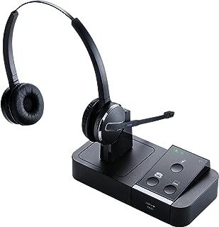 Jabra PRO 9450 Duo Flex-Boom - Professional Wireless Unified Communicaton Headset