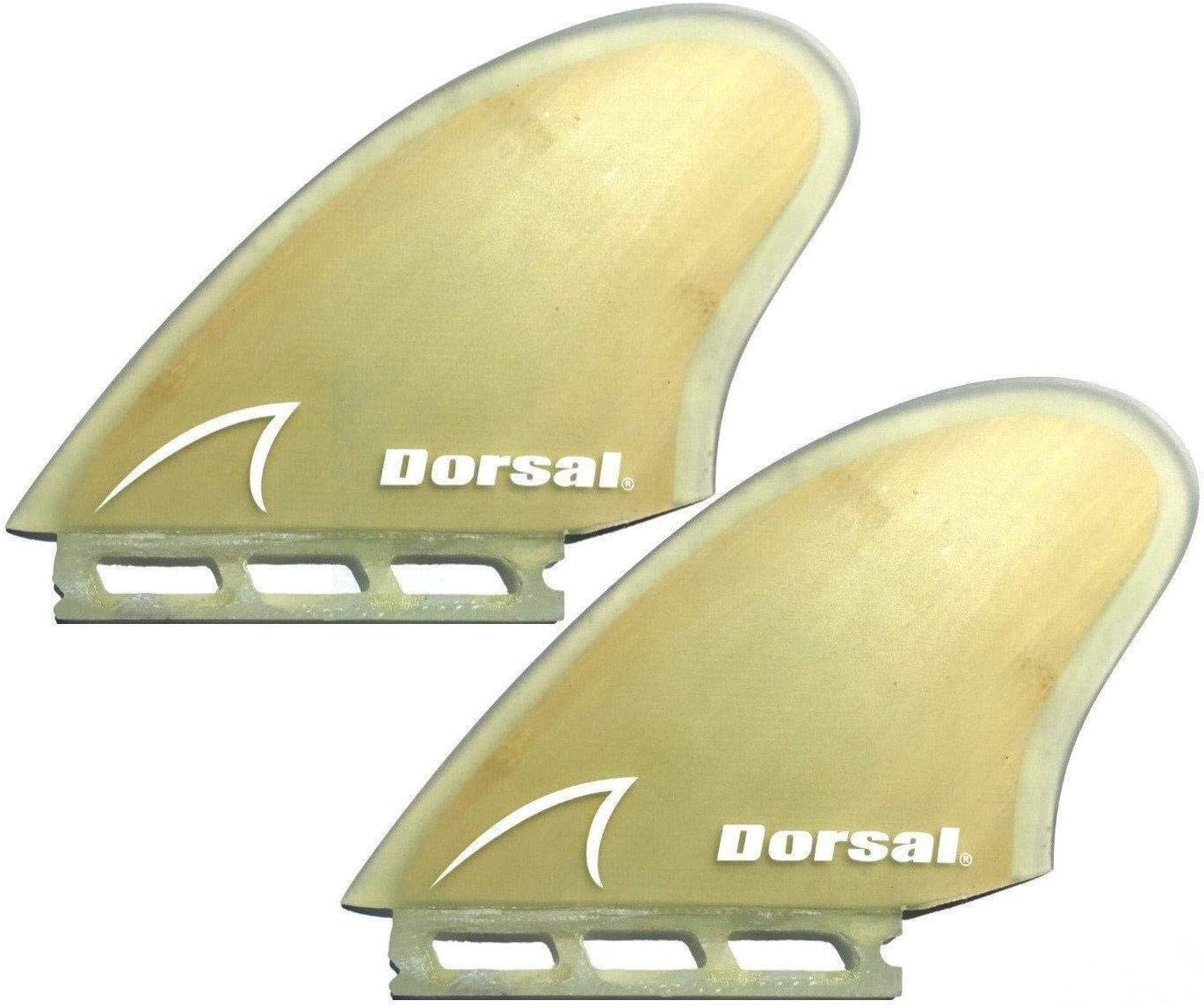Over item handling ☆ DORSAL FUT Fin Compatible Keel New product! New type Twin Bamboo Surfboard - Set