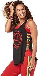 comprar comparacion Zumba Camiseta sin Mangas de Lateral Abierto para Mujer