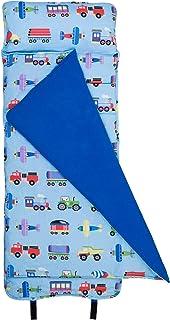 Wildkin Original Nap Mat, Features Built-In Blanket and...