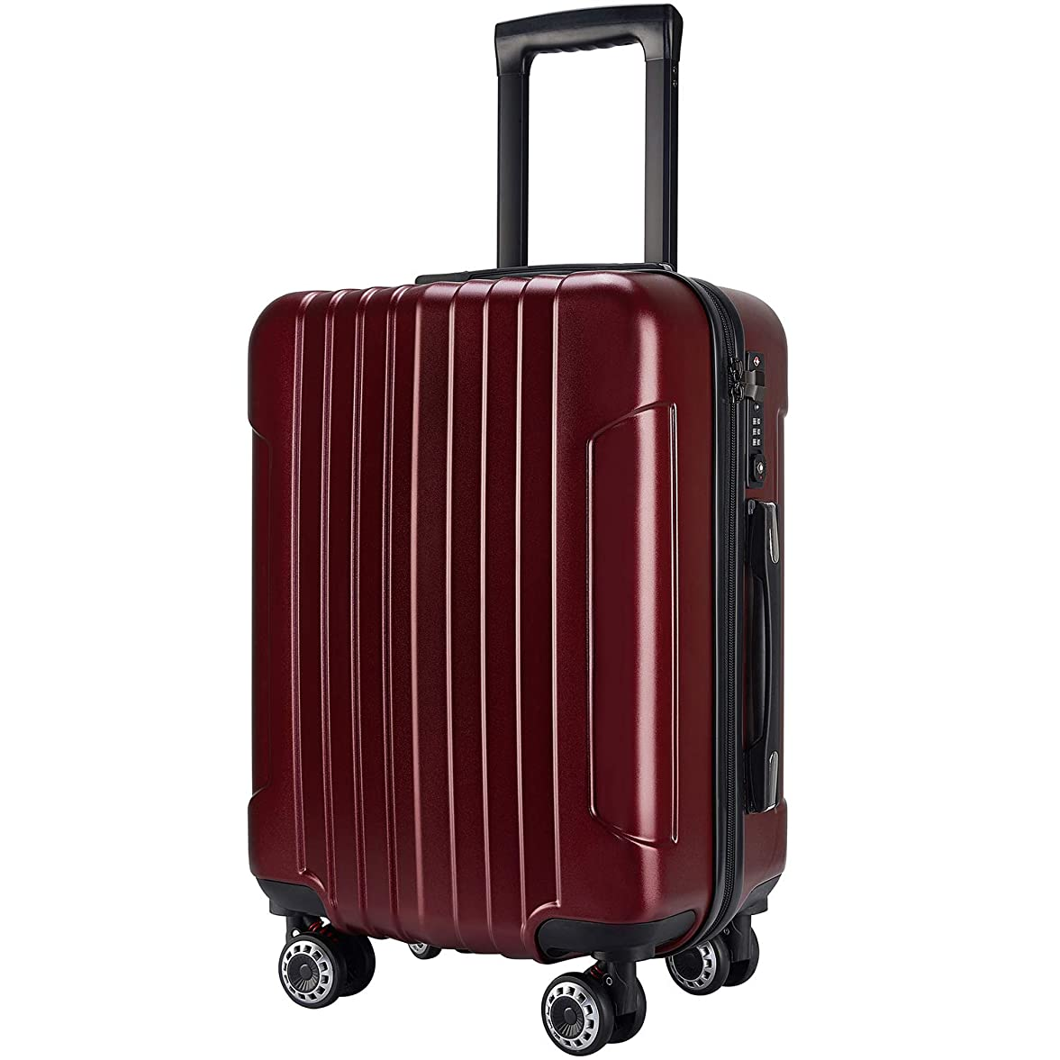 素敵な正当な葉っぱ(TTOバリジェリア)TTOvaligeria スーツケース キャリーバッ S型機内持込 軽量 TSAロック付 静音 大型