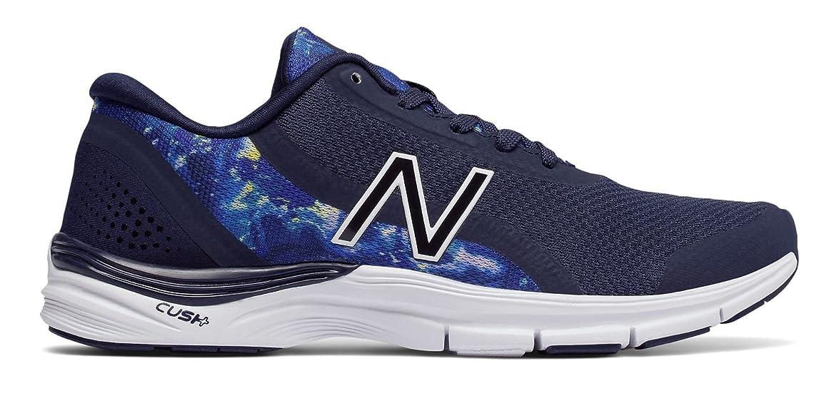 請負業者差し引くダウンタウン(ニューバランス) New Balance 靴?シューズ レディーストレーニング 711v3 Mesh Trainer Pigment with Ice Violet ピグメント アイス バイオレット US 7.5 (24.5cm)
