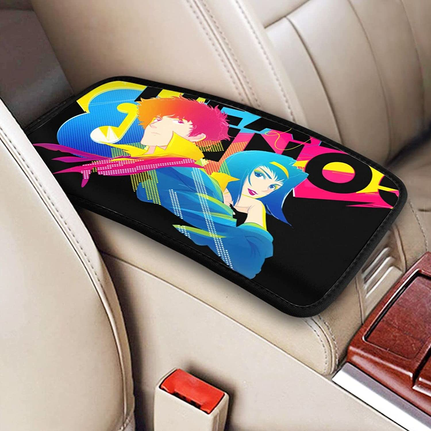 Cowboy Bebop Anime Auto Center Console Cover Armrest Pad Soldering Spike S Mail order cheap