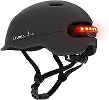 Livall Unisex– Erwachsene C20 Fahrradhelm, schwarz, 57-61cm