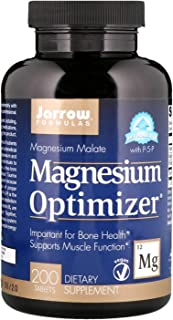 Jarrow Formulas Magnesium Optimizerreg 200 Tablets