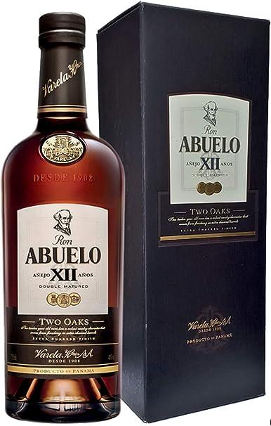 Ron Abuelo Añejo Two Oaks 12 años de 70 cl - Elaborado en ...