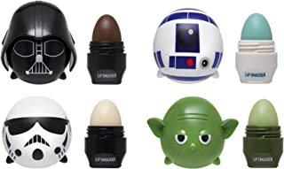 Lip Smacker Disney Tsum Tsum Lip Balm Star Wars,Star Wars Yoda/Darth Vader/R2D2/Storm Trooper,Set of 4 Lip Balms