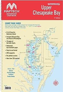 Maptech Upper Chesapeake Bay Waterproof Chartbook 1st Ed