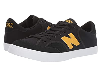 New Balance Numeric NM212 (Black/Yellow) Men