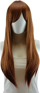 Epic Cosplay Nyx Light Brown Long Straight Wig 28 Inches (11LB)