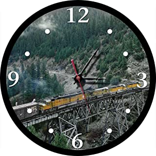 Union Pacific DDA40X in Feather River Canyon Round Clock