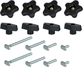 """POWERTEC 71121 Kit T-Bolt de 16 peças 5/16"""""""
