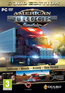 American Truck Simulator Gold (New Mexico DLC/Wheel Turning/Steering Creations) (PC DVD) (UK IMPORT)