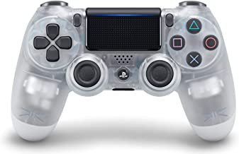 DualShock 4 Wireless Controller for PlayStation 4 - Crystal (Renewed)