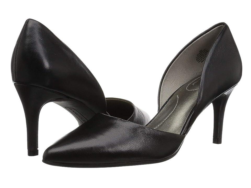 Bandolino Grenow Heel (Black Leather) High Heels