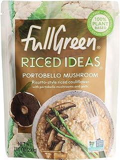 Fullgreen Riced Ideas Portobello Mushroom - Risotto-style Riced Cauliflower, 200g