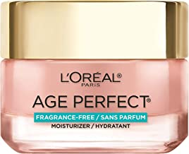 Face Moisturizer by L'Oreal Paris Skin Care, Age Perfect Rosy Tone Fragrance Free Moisturizer for Face with LHA and Imperial Peony, Anti-Aging Day Cream for Face, Non-greasy, 1.7 Ounce