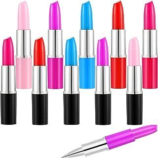 32 Piezas Bolígrafos en Pintalabios Bolígrafos de Multicolor en Forma de Pintalabios Bolígrafos Lindos para Escuela Oficin...