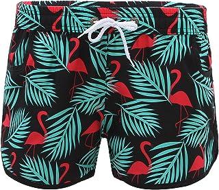 3066ff2990 La Vogue Femme Fille Short de Bain Plage Surf Piscine Grande Taille Shorts  de Sport Yoga