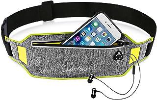Letigo Running Belt Waist Band Belt Bag Fanny Pack, Water Resistant, Hip Pack Bum Bag For Man Women Sports Travel Running Hiking / Money Iphone 6 / 7 6S (Waist Pack)