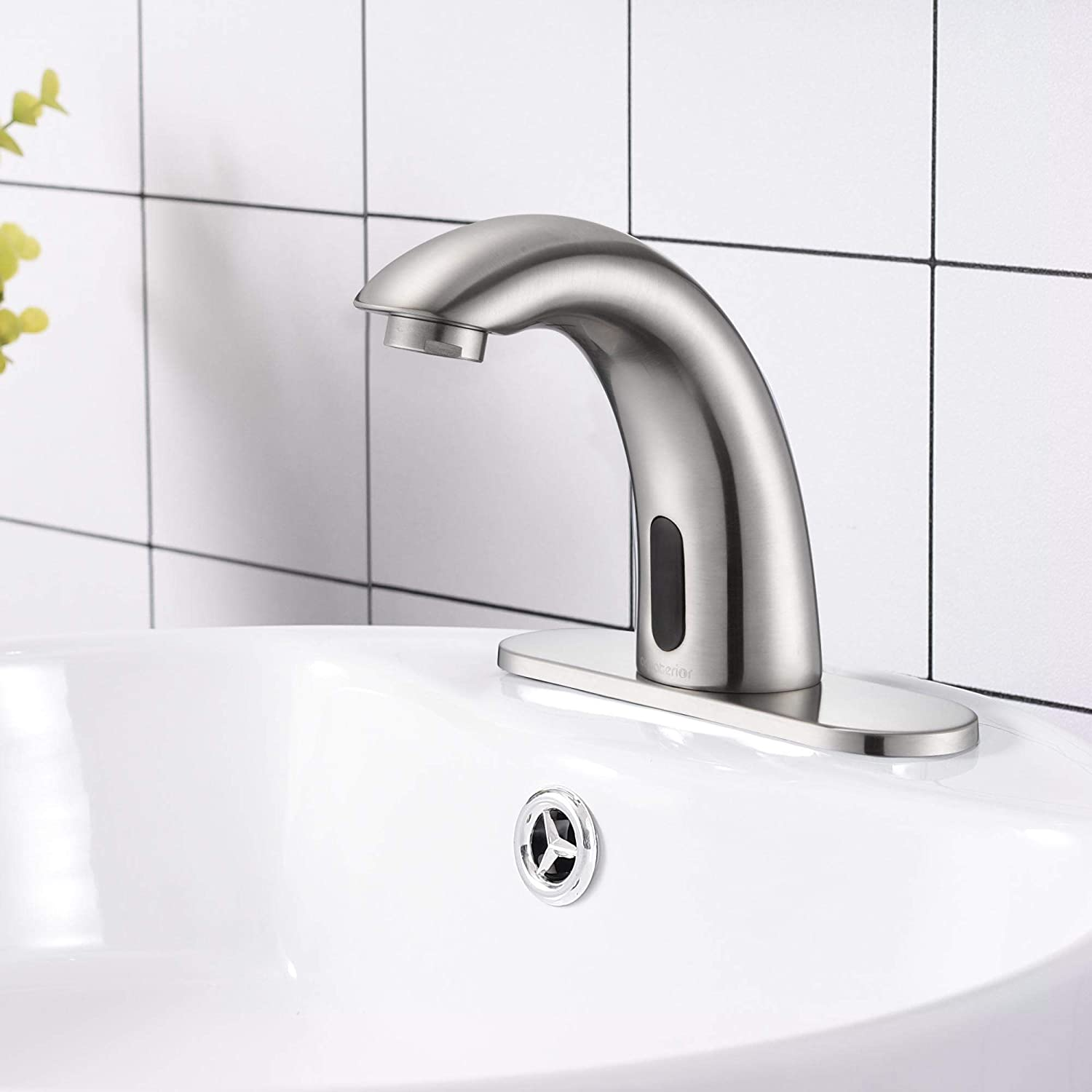 YeStarry Commercial Automatic Sensor Touchless Faucet Sink Washington Mall 5