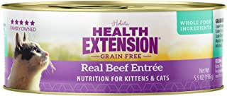 Health Extension Grain Free Beef Entree Canned Wet Cat Food - (24) 5.5 Oz Cans