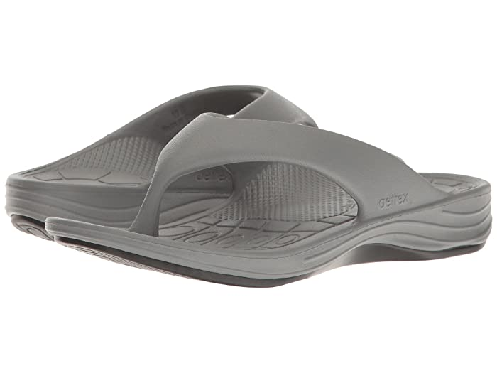 Aetrex  Lynco Flip (Grey) Womens Sandals
