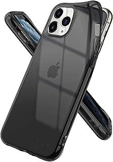 كفر ايفون 11 برو , ماركة رينجكي , مرن بالكامل , تصميم آير , رمادي شفاف