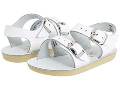 Salt Water Sandal by Hoy Shoes Sun-San Sea Wees (Infant/Toddler) (White) Kids Shoes