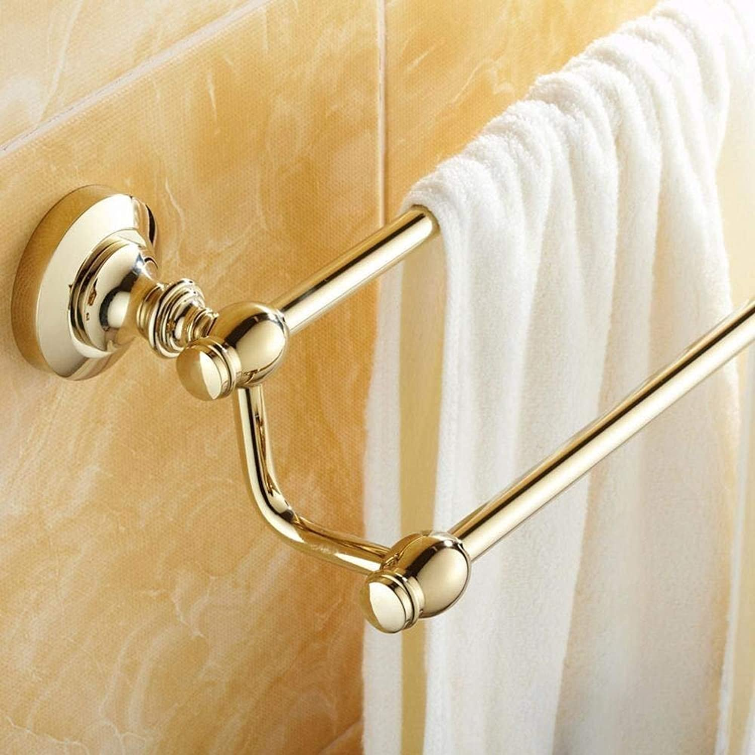 The'Dry-Towels Rationalization, Bathroom, Copper, gold Support to Double Rod