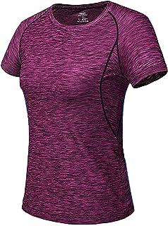 [ジェームズ?スクエア] レディース 速乾 ドライ Tシャツ スポーツ トレーニング シャツ 半袖